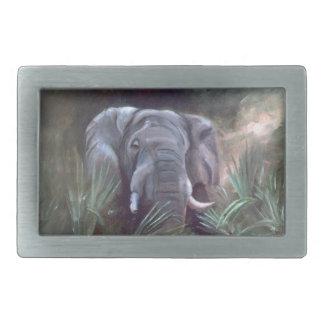 Elephant Portrait Belt Buckle