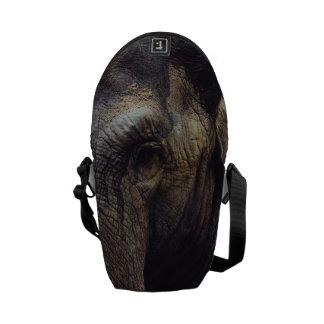 Elephant Portrait Courier Bag