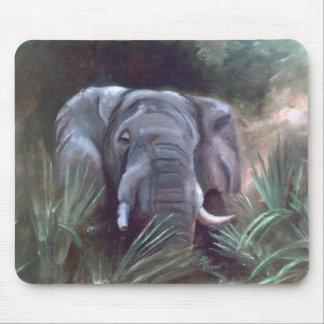 Elephant Portrait Mousepad