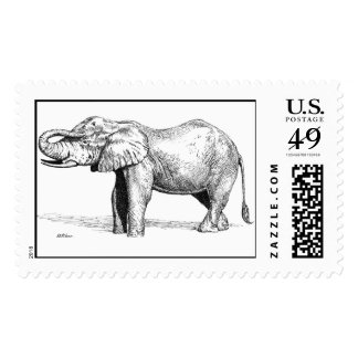 Elephant Postage
