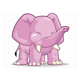 Elephant Post Card