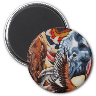 Elephant Pride 2 Inch Round Magnet