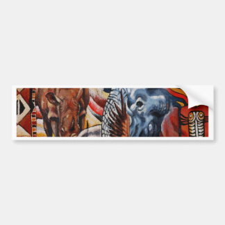 Elephant Pride Bumper Sticker