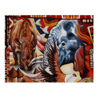 Elephant Pride Postcard
