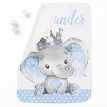 Elephant Prince Baby Blankets