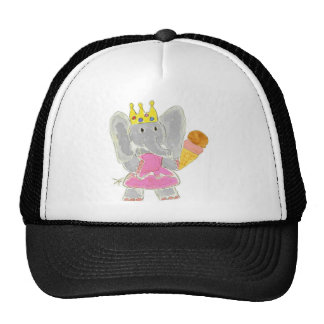 Elephant Princess Ice Cream Hats