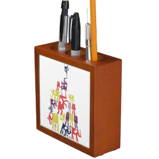 Elephant Pyramid Pencil/Pen Holder
