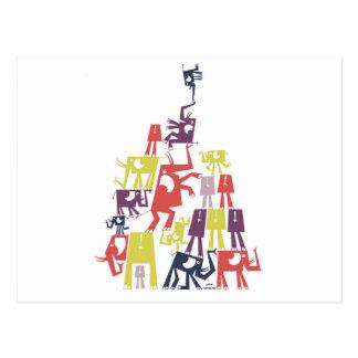 Elephant Pyramid Postcard