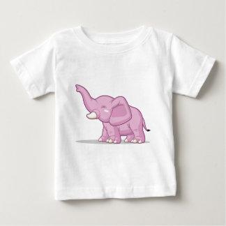Elephant Raising Its Trunk Baby T-Shirt