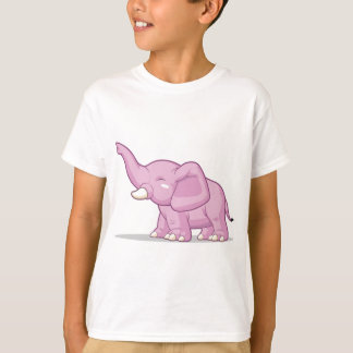 Elephant Raising Its Trunk T-Shirt
