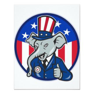 Elephant Republican Invitations