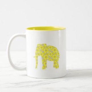 elephant retro cup