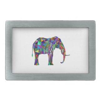 Elephant Revival Rectangular Belt Buckle