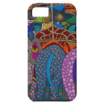 'Elephant Ride' original art products by Gwolly iPhone 5 Cover