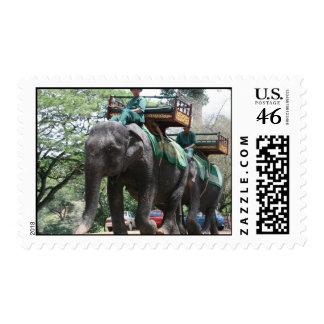 Elephant Ride Postage