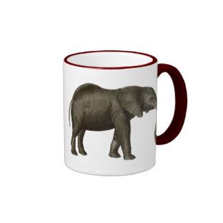 Elephant Ringer Mug