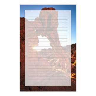 Elephant Rock in the Valley of Fire Stationery