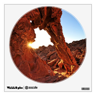 Elephant Rock in the Valley of Fire Wall Decal