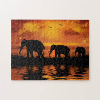 Elephant Safari Puzzle