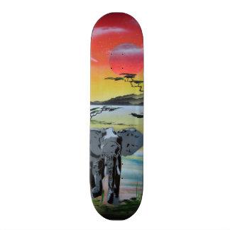 Elephant Safari skateboard