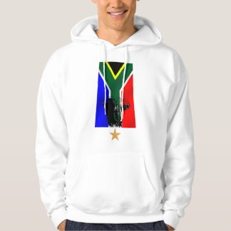 Elephant Safari South African flag cultural gifts Hooded Sweatshirts