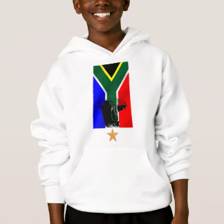 Elephant Safari South African flag cultural gifts Hoodie