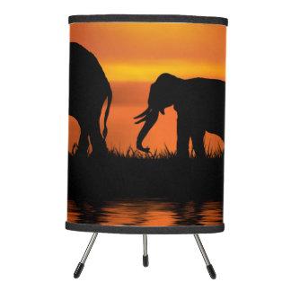 Elephant Safari Tripod Lamp