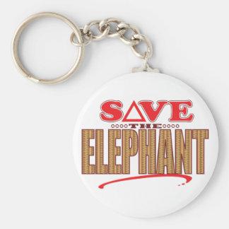 Elephant Save Keychain