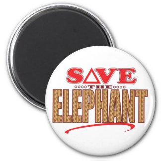 Elephant Save Magnet