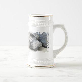 Elephant Seal Beer Stein Mugs