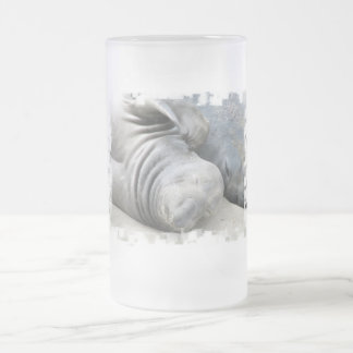 Elephant Seal Frosted Beer Mug