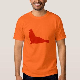 Elephant Seal Shirt Sinopia Orange