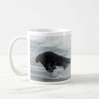 Elephant Seal Surfer Mug