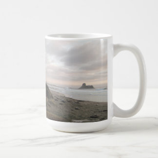Elephant Seals at Piedras Blancos Beach Coffee Mug