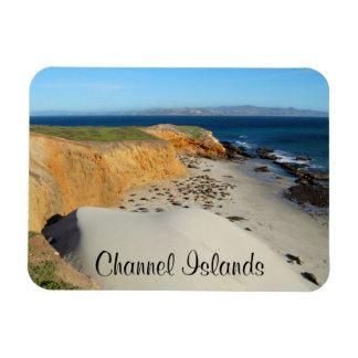 Elephant Seals, San Miguel Island, Channel Islands Magnet
