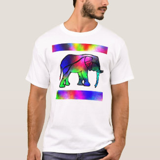 "Elephant Shirt ""Pink Tail"" by SimplyTonjia"