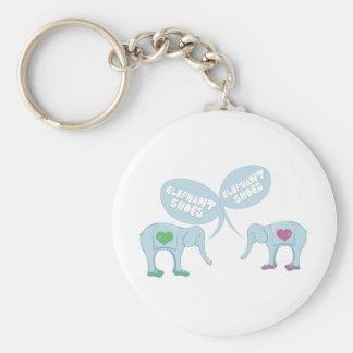 Elephant Shoes Key Chains