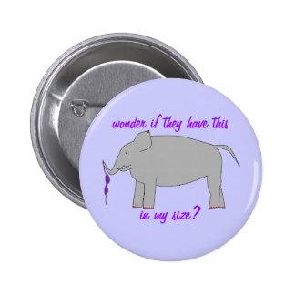 Elephant shopping badge