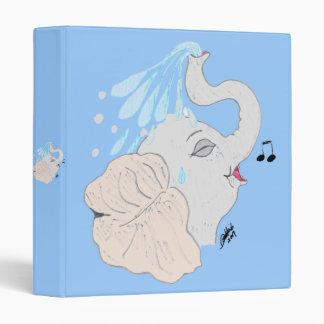 Elephant Shower Binder