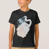Elephant Shower Kids' T-Shirt