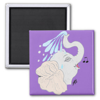 Elephant Shower Magnet