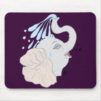 Elephant Shower Mousepad