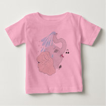 Elephant Shower Toddler T-Shirt