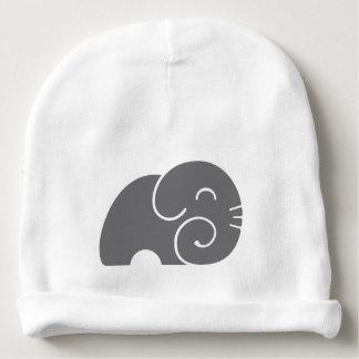 Elephant Silhouette Baby Beanie