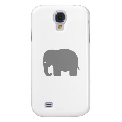Elephant Silhouette Galaxy S4 Cover