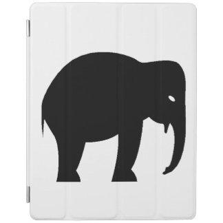 Elephant Silhouette iPad Cover