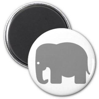 Elephant Silhouette Magnet