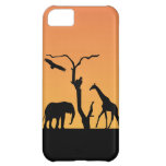 Elephant silhouette sunset iphone 5 case mate