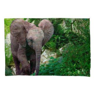 Elephant Single Pillowcase, Standard Size Pillow Case