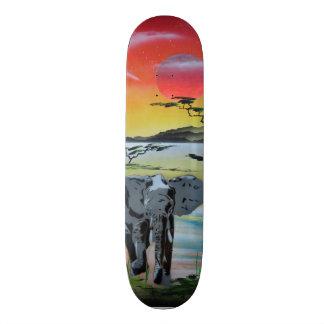 Elephant Skateboard. Skateboard